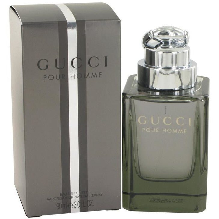 GUCCI by GUCCI POUR HOMME 3.0 oz edt Men Cologne Spray NEW in BOX