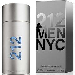 212 Men NYC by Carolina Herrera cologne men EDT 3.3 / 3.4 oz New in Box