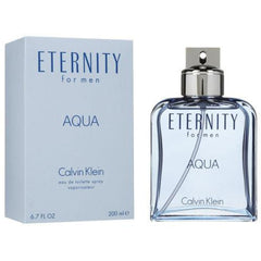 ETERNITY AQUA by Calvin Klein for Men Cologne 6.7 / 6.8 oz edt New in Box
