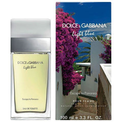 Dolce & Gabbana Light Blue Escape to Panarea Perfume 3.3 / 3.4 oz edt NEW IN BOX