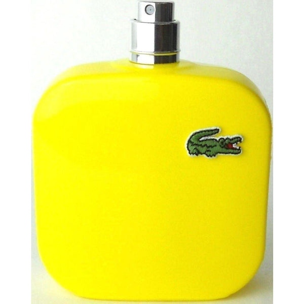 JAUNE OPTIMISTIC Eau de Lacoste L.12.12 Yellow cologne men edt 3.3 oz 3.4 NEW TESTER