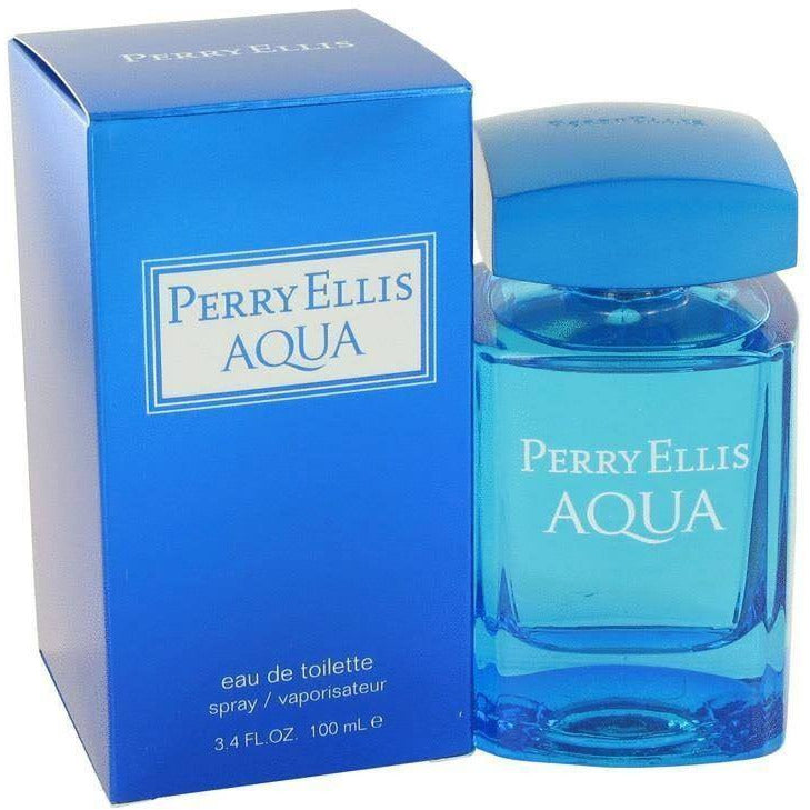 Perry Ellis AQUA Spray for Men 3.4 oz 3.3 EDT NEW IN BOX