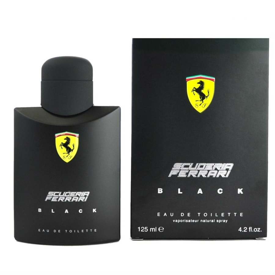 scuderia-ferrari-black-by-ferrari-4-2-oz-edt-cologne-men-new-in-box