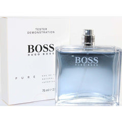 BOSS PURE by Hugo Cologne for Men 2.5 oz edt New tester no cap