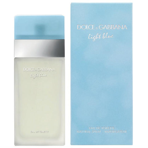 DOLCE & GABBANA Light Blue EDT 3.3 / 3.4 oz NEW IN BOX
