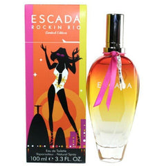 ESCADA ROCKIN RIO Limited Edition women edt Perfume 3.4 / 3.3 oz New in Box