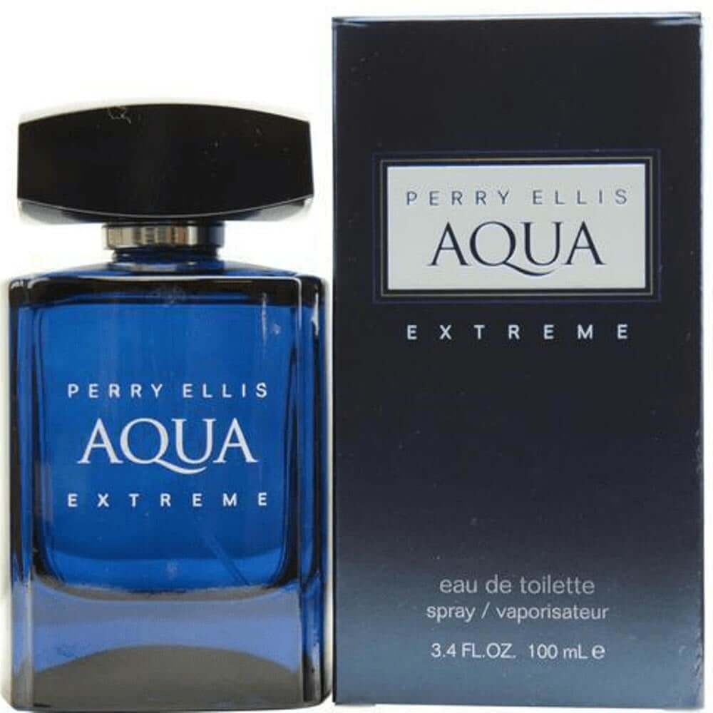 AQUA EXTREME by Perry Ellis cologne for men EDT 3.3 / 3.4 oz New in Box