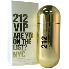 212 VIP by Carolina Herrera perfume for her EDP 2.7 oz New in box