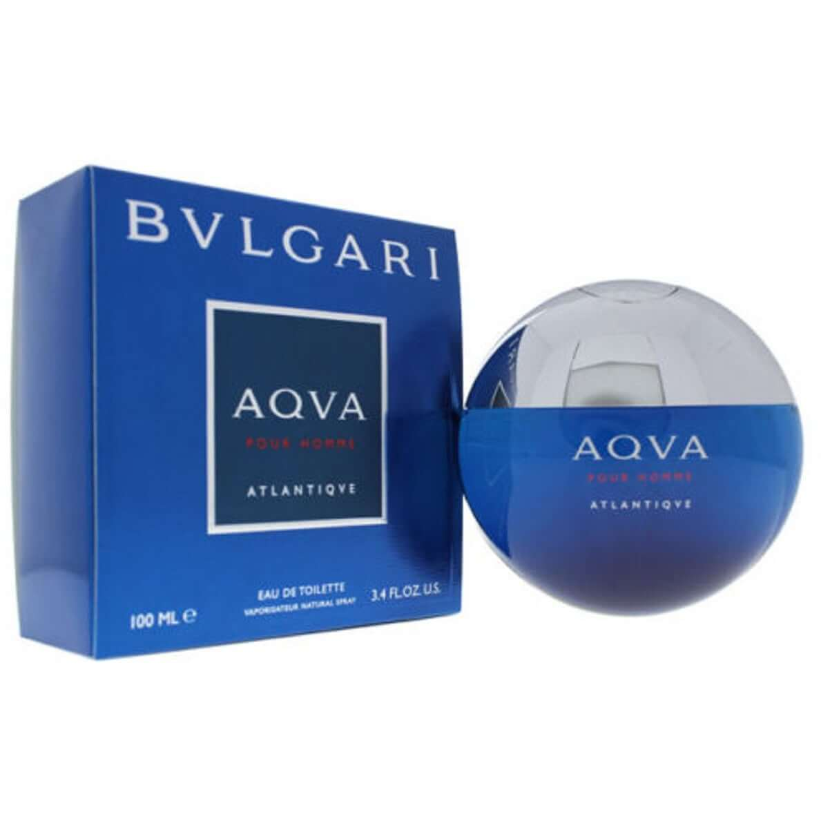 Aqva Atlantiqve Pour Homme by Bvlgari cologne EDT 3.3 / 3.4 oz New in Box