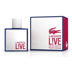 L!VE LACOSTE LIVE men cologne spray EDT 3.4 oz 3.3 NEW IN BOX