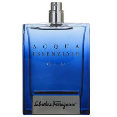 ACQUA ESSENZIALE BLU by Salvatore Ferragamo for men 3.4 oz 3.3 edt New Tester