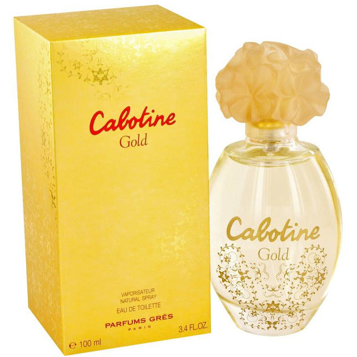 CABOTINE GOLD PARFUMS GRES for Women 3.3 edt 3.4 oz New in Box - 3.4 oz / 100 ml