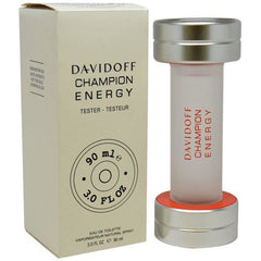 CHAMPION ENERGY by Davidoff Spray 3.0 oz edt NEW tester