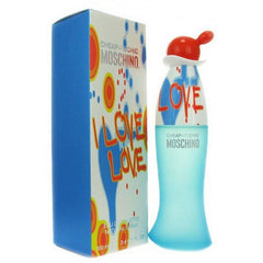 I Love Love Perfume by Moschino 3.4 oz edt for Women New in Box Sealed