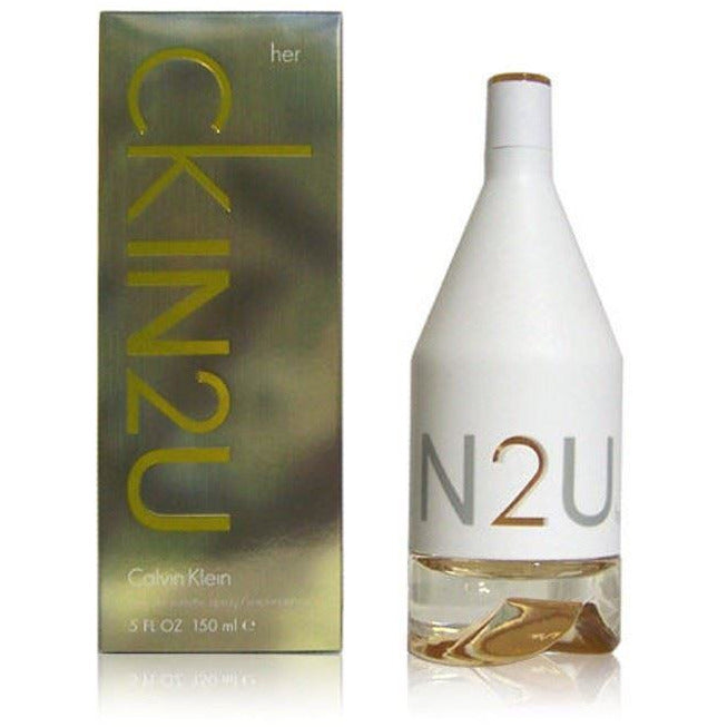 CK IN2U HER Calvin Klein Perfume EDT 5.0 oz IN 2 U NEW IN BOX
