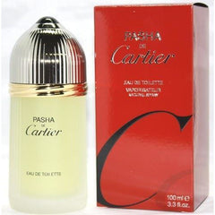 PASHA de CARTIER by CARTIER for Men 3.3 oz / 3.4 oz Cologne edt NEW IN BOX
