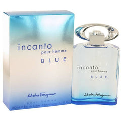 INCANTO BLUE pour homme by Salvatore Ferragamo 3.4 Cologne 3.3 New in Box