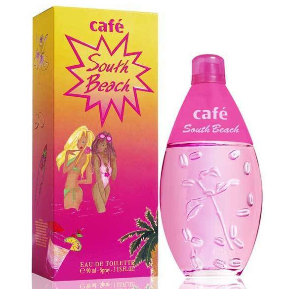 Cafe South Beach by Cofinluxe for women edt 3.0 oz New in Box