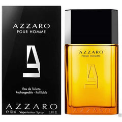 AZZARO pour HOMME Cologne 3.3 oz / 3.4 oz Spray New in Box (Rechargeable) - 3.4 oz / 100 ml