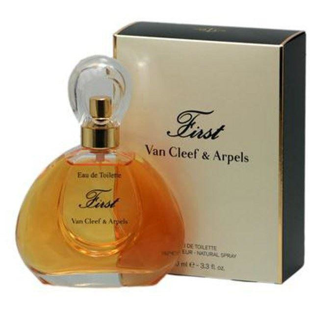 FIRST by Van Cleef & Arpels Perfume Women 3.3/3.4 oz EDT NEW in Box
