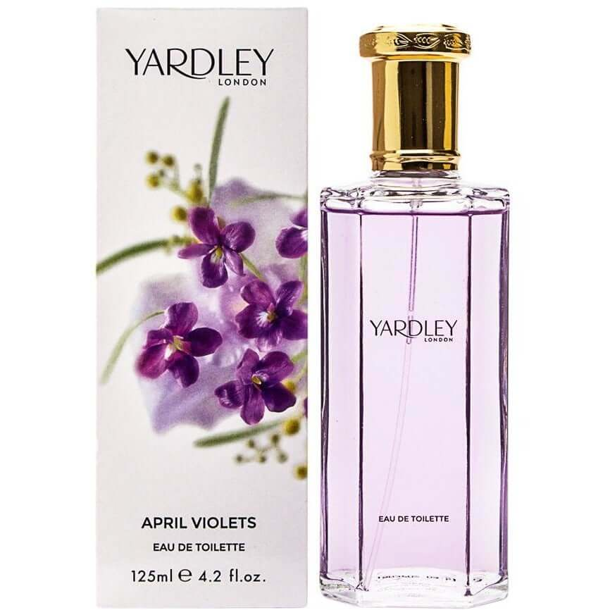 APRIL VIOLETS by Yardley London perfume for women EDT 4.2 oz New in Box