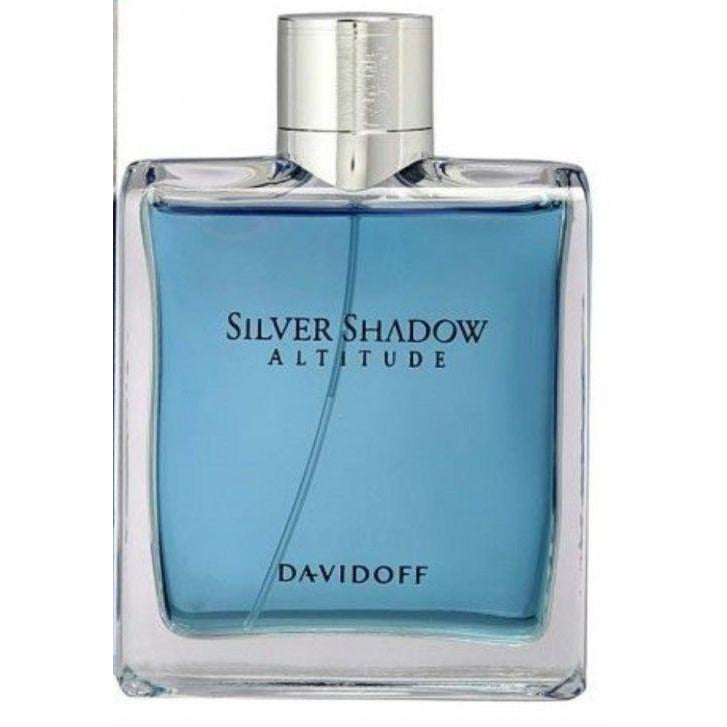 Silver Shadow Altitude By Davidoff 34 Oz Edt Cologne Tester For Men