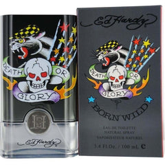 BORN WILD by Ed Hardy Christian Audigier for Men 3.4 oz edt New in Box