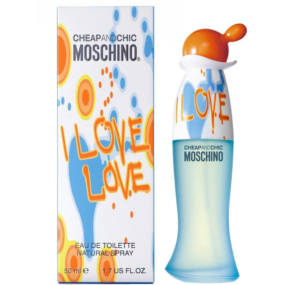202eb16a7fd17 I Love Love Perfume by Moschino 1.7 oz EDT for Women
