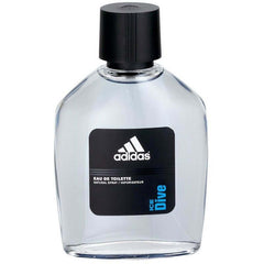 Adidas ICE DIVE Cologne for Men 3.4 oz edt 3.3 Spray NEW in DAMAGED Retail Box