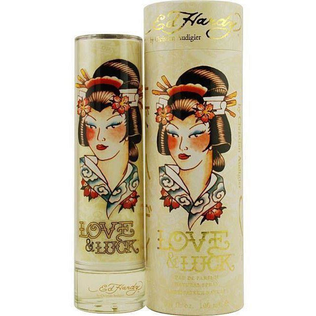 Ed Hardy Love Luck For Men 3 4 Oz 100 Ml Edt Spray: Ed Hardy Love & Luck By Christian Audigier Perfume For Women