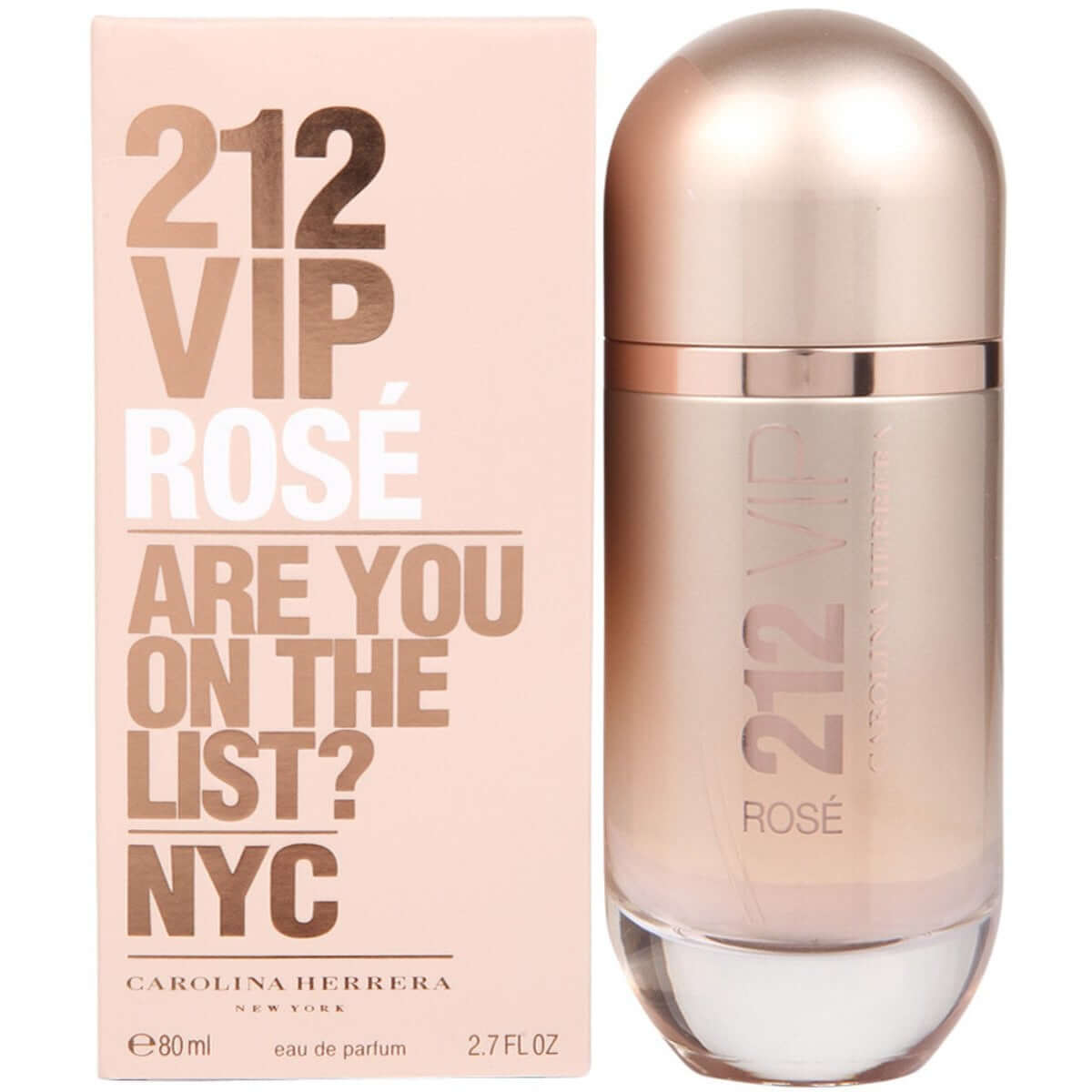 212 VIP ROSE by Carolina Herrera perfume for her EDP 2.7 oz New in box