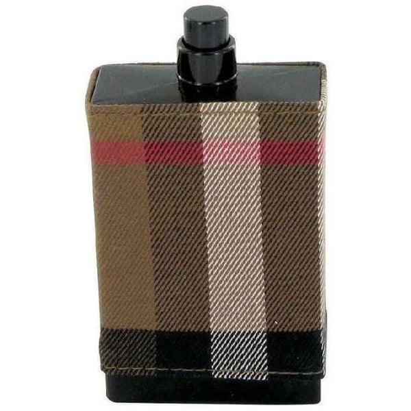 BURBERRY LONDON FABRIC Men cologne edt 3.3 oz 3.4 NEW TESTER