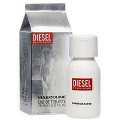 DIESEL PLUS PLUS MASCULINE for Men Cologne 2.5 oz New in Box
