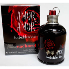 AMOR AMOR FORBIDDEN KISS by Cacharel Perfume 3.3 oz / 3.4 oz edt NEW