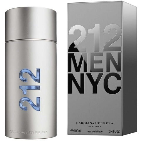 212 MEN NYC by Carolina Herrera cologne EDT 3.3 / 3.4 oz New in Box