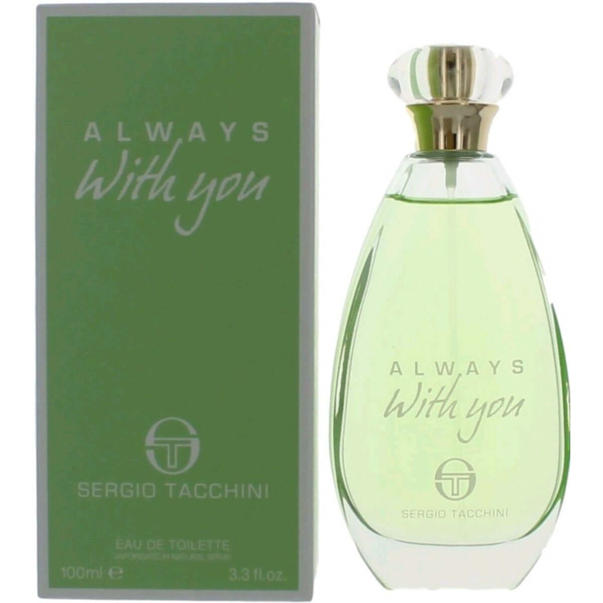 Always with You by Sergio Tacchini for women EDT 3.3 / 3.4 oz New in Box