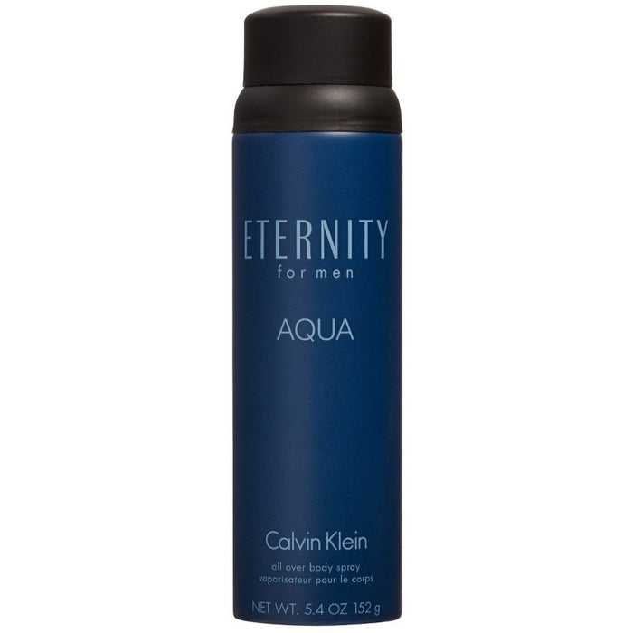 ETERNITY AQUA for Men all over body spray by CALVIN KLEIN 5.4 oz New