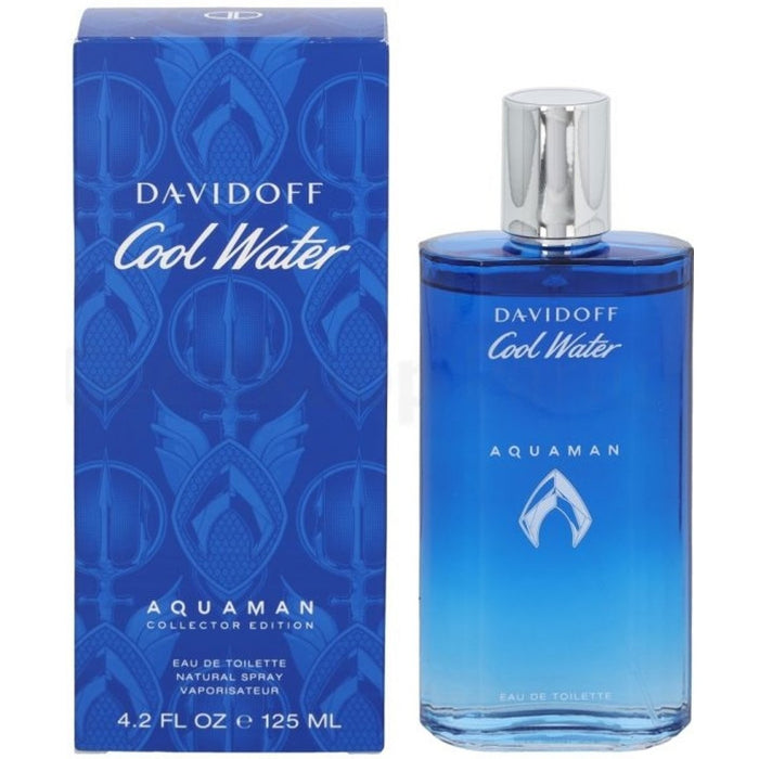 Cool Water Aquaman by Davidoff cologne for men EDT 4.2 oz New in Box