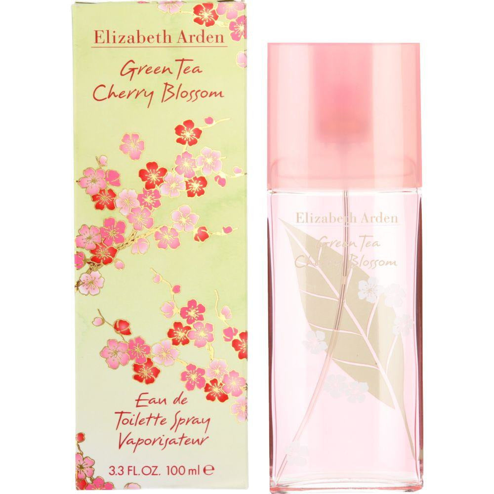 GREEN TEA CHERRY BLOSSOM Elizabeth Arden 3.3 oz 3.4 edt NEW IN BOX