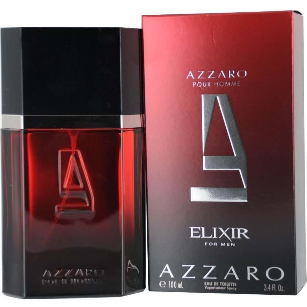 AZZARO ELIXIR by Azzaro 3.3 / 3.4 oz edt Spray for Men NEW IN BOX