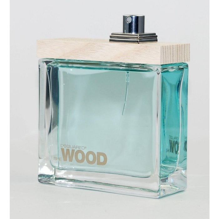 She Wood Crystal Creek Wood by DSQUARED2 EDP 3.4 NEW TESTER