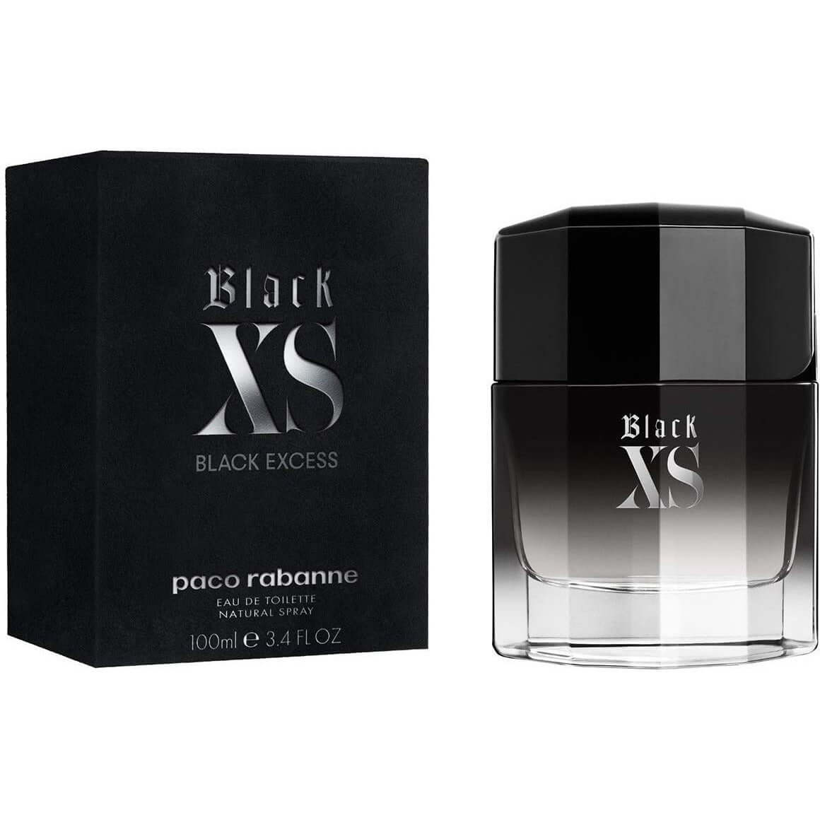 Black XS by Paco Rabanne cologne for men EDT 3.3 / 3.4 oz new in Box