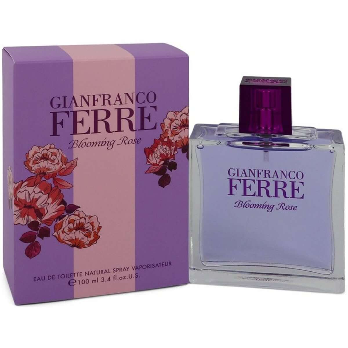 Blooming Rose by Gianfranco Ferre for women EDT 3.3 / 3.4 oz New in box