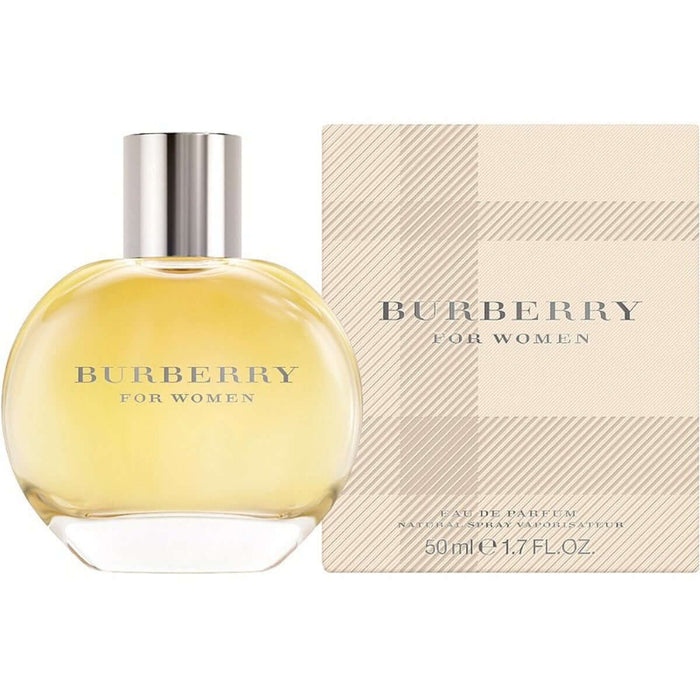 BURBERRY CLASSIC by Burberry perfume for women EDP 1.7 oz New in Box