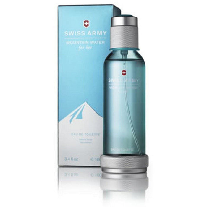 Mountain Water by Swiss Army 3.4 oz 3.3 edt Perfume Women New in Box