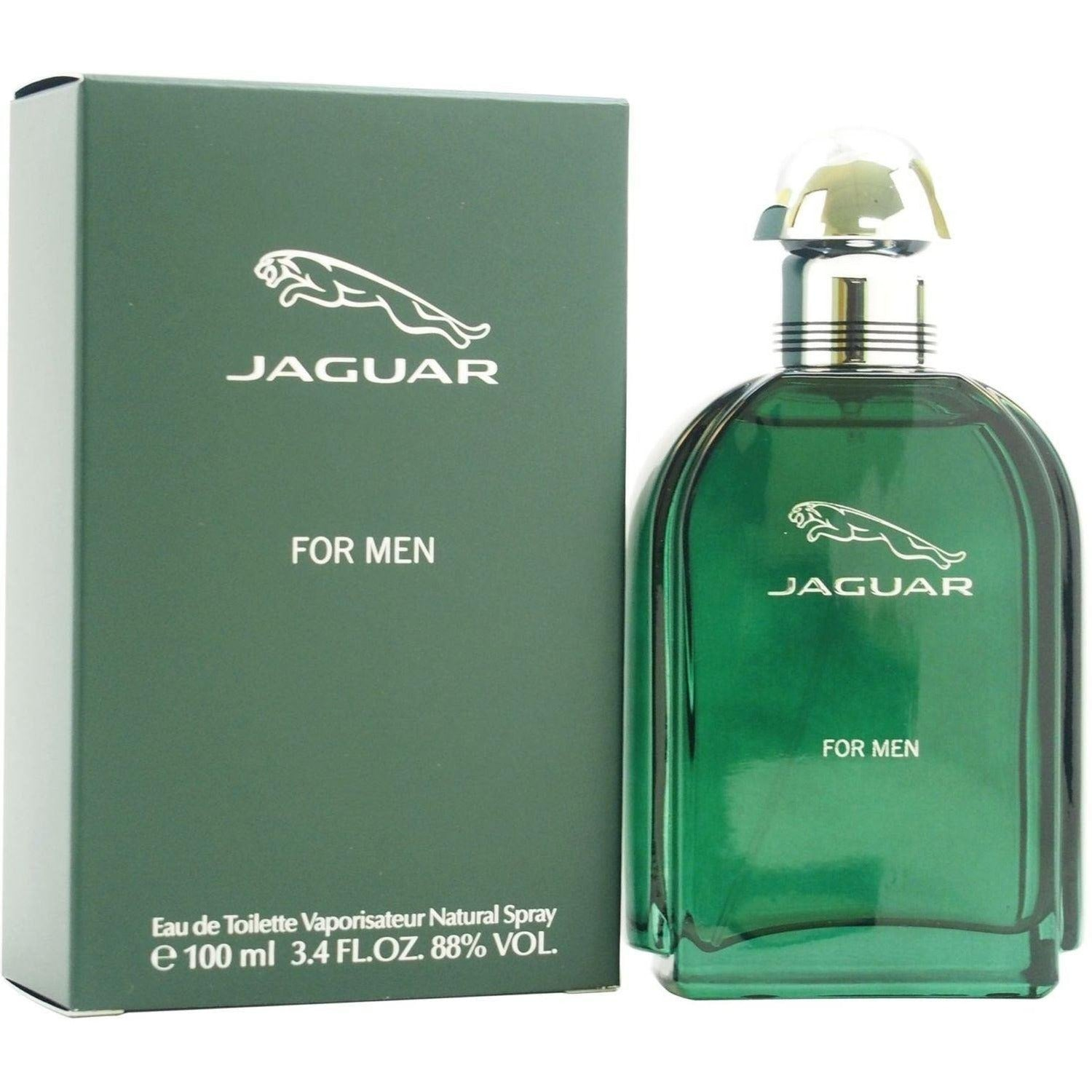 jaguar green by jaguar cologne 3 4 oz edt spray for men. Black Bedroom Furniture Sets. Home Design Ideas