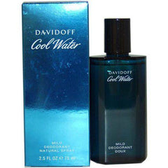 COOL WATER by Davidoff cologne Mild Deodorant Spray 2.5 oz NEW IN BOX