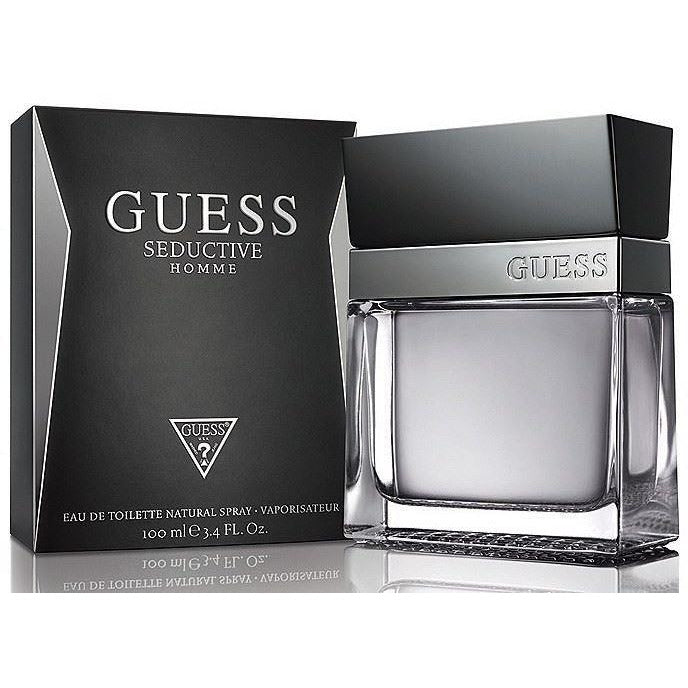 GUESS SEDUCTIVE HOMME 3.3 / 3.4 edt Men Cologne New in Retail Box