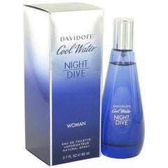 COOL WATER NIGHT DIVE By Davidoff Woman perfume EDT 2.7 oz NEW IN BOX