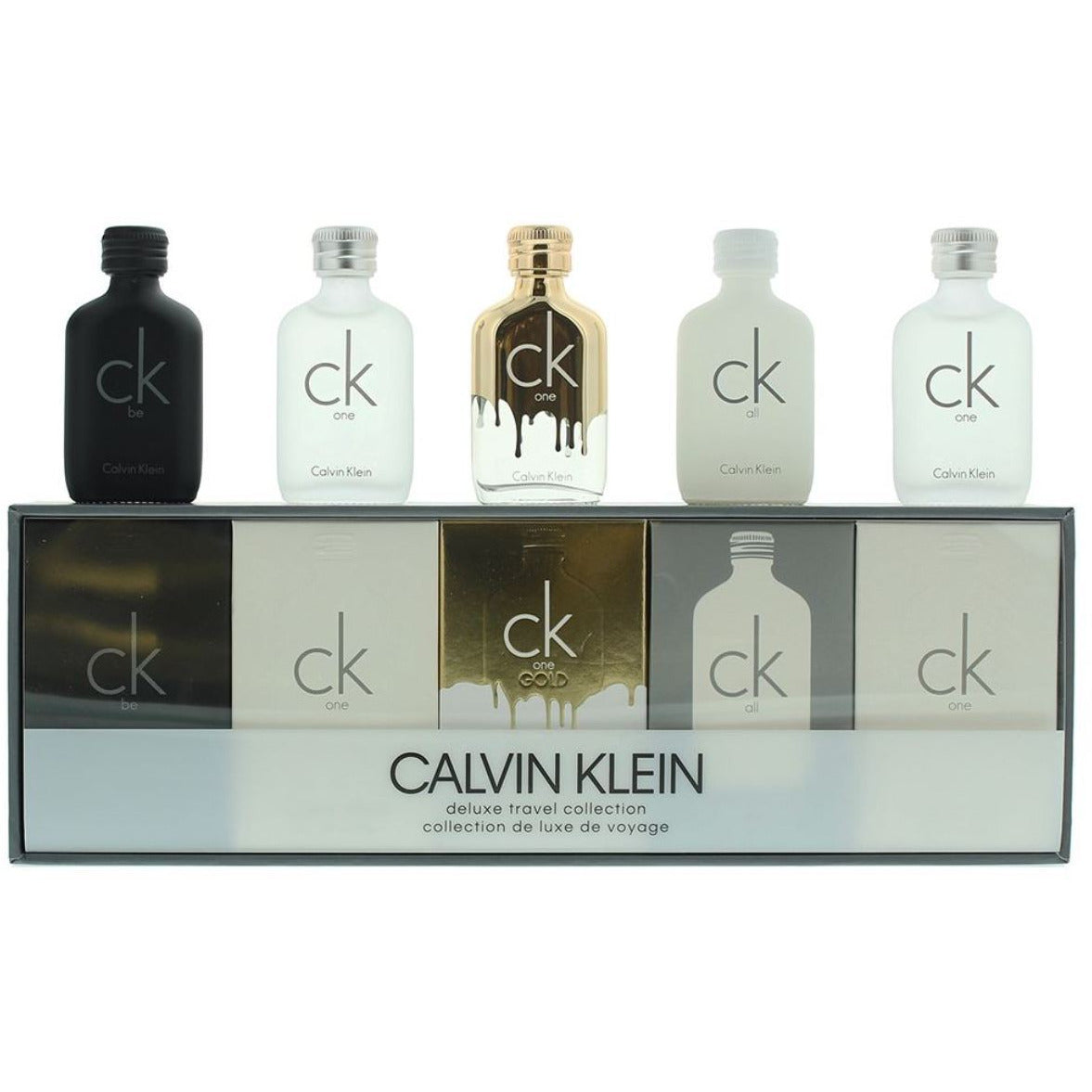 Calvin Klein (Delux Travel Collection) cologne men EDT 5 piece  New In Box
